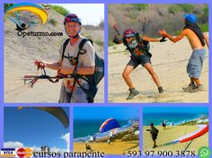 Parapente Cursos Montañita Ecuador Puedes aprender de este deporte lleno de adrenalina y aventura con instructores certificados y experiencias . Donde a demas de experimentar algo nuevo podras divisar los hermosos paisajes de otro ambito.