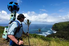 """Hawaii Visitors and Convention Bureau, Hawaii Forest & Trail and Google have partnered to go """"off-road"""" with Google Maps - will be posting treks to 20 areas around the Big Island to explore!"""