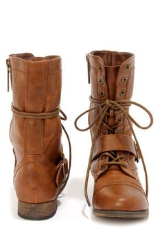 Junior Combat Boots - Boot Hto