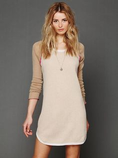 Free People Cashmere Thermal Nightie, C$97.93 ...Christmas?? ;)