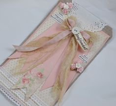 A Communion card for a girl by Mona V