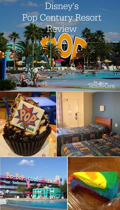 We are staying here when we go to Disney in December! Pop Century Resort Review - KidsOnAPlane.com