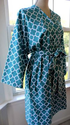 Robe Robes Cotton Robes Custom Kimono by ORTUPESKimonoRobes