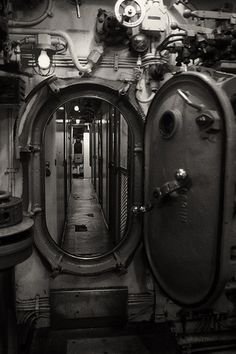 Hard Surfaces - Submarine Door