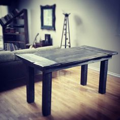 www.denverswork.com and @denverswoodwork on instagram/twitter Rustic Elegance, Twitter, Table, Inspiration, Furniture, Instagram, Home Decor, Homemade Home Decor, Decoration Home
