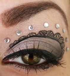 face paint ideas for  steampunk costume | Cheshire Cat makeup… this is pretty awesome