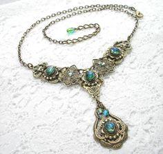 """""""Celtic Rainforest"""" Necklace"""