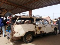 How to Ride in a Mauritanian Bush Taxi
