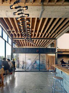 Sightglass Coffee Roasters, Boor Bridges Architecture | Remodelista Architect / Designer Directory