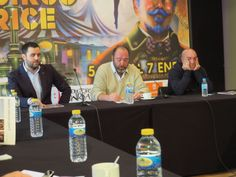 Manuel González Villanueva, Natalio Grueso, Jesús Silva