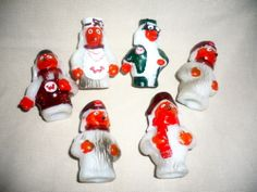 Vintage Retro 1970s Wombles Limited Cake Toppers Decoration Models | eBay