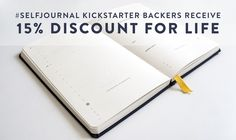 Self Journal: Your Daily Structure for Success by Best Self Co. — Kickstarter   http://kck.st/1NrjrvW    The journal to help you set and reach your goals. Start creating the life of your dreams today!    http://kck.st/1NrjrvW