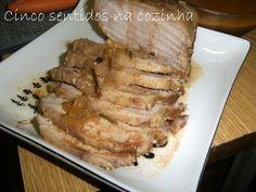 Cinco sentidos na cozinha: Lombo de porco à madeirense