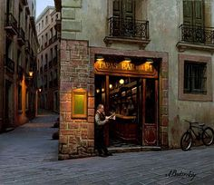 Pensive mood: Night cityscapes by a Russian artist Alexey Butyrsky - 11