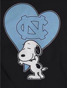 Snoopy ❤️ North Carolina