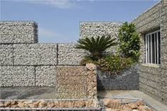 Resultado de imagem para landscaping gabion garden