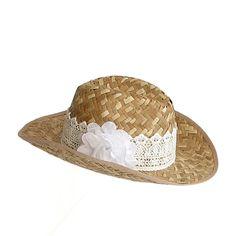Sombrero cowboy guipur, 18€