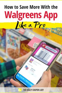 Walgreens is one of the best stores for beginner couponers because they make it possible to save a ton of money and their app is pretty easy to use. The Walgreens app does a lot of different jobs at the same time — it's a store, it's a coupon database, it's a pharmacy and it's even a doctor's office. Couponing at Walgreens is definitely easier when you've got The Krazy Coupon Lady's best money saving tips and couponing hacks for beginners and pros alike!