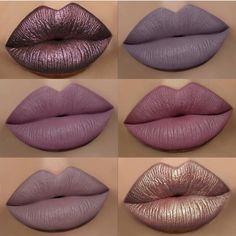 Matte & methalic lip
