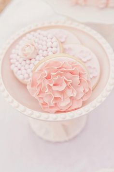 biscotti glassati con fiori