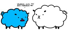 that sheeps been rolling in the manic panic