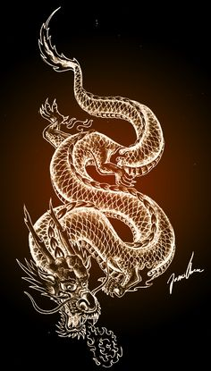Dragon - Dragon The Effective Pictures We Offer You About diy A quality picture can tell you many things. Star Tattoos, Tribal Tattoos, Celtic Tattoos, Wolf Tattoos, Sleeve Tattoos, Japanese Dragon, Japanese Art, Irezumi Tattoos, Aesthetic Iphone Wallpaper