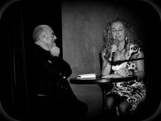 Noche de poemas respuesta con Ángel Guinda. En lOs Diablos Azules (Madrid), una noche tan intensa, tan preciosa...