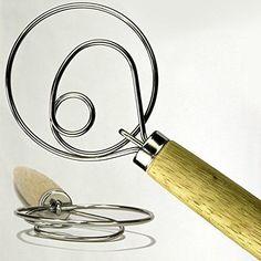 The Original Kitchen 13.5-Inch Stainless Steel Danish Dou...