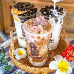 Bubble Tea Menu, Acai Bowl, Bubbles, Tasty, Breakfast, Food, Acai Berry Bowl, Morning Coffee, Essen