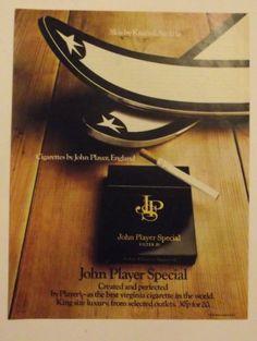 1971 John Player Cigarettes Ad Kneissl Skis UK England