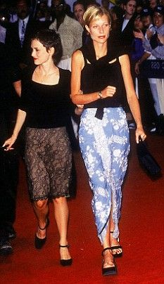 Old Friends: Gwyneth Paltrow and Winona Ryder in 1997 before their fall-out