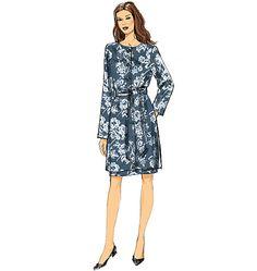 Vogue Patterns 9123 Misses' Jacket, Belt and Dress sewing pattern