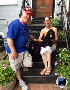 Darla! June 2015 It's a #HappyTail for darling Darla who joined her new family this weekend. Darla (in her new Mom's lap) joins big brother, Jake, in valiantly guarding their yard from invaders such as birds, squirrels and the mailman. Congrats and wishes for many happy years together!