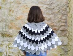 Kids dress up Wing Cape Bird wings for Children Halloween Costume for Toddlers Boys and Girls,