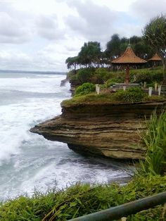 """The great Hill"" at Batu Hiu Beach of Pangandaran"