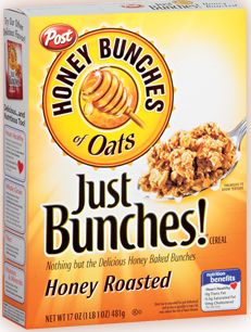Honey Bunches of Oats Cereal 1