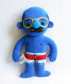Tobias Funke Plush. (in his blueman group/never nude/analrapist form) yes. please.