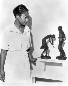 Augusta Savage: Renaissance Woman at the Cummer Museum of Art and Gardens in Jacksonville, Florida constitutes the largest exhibit ever organized by the museum and the most comprehensive examination of Savage's career. African American Artist, African American History, American Artists, Renaissance Artworks, Harlem Renaissance Artists, Black History, Art History, Augusta Savage, Romare Bearden