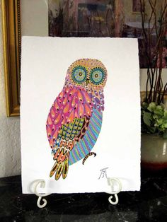 The Playful Design Of The Colorful Owls Will Brighten Up