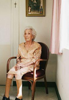 portraits de centenaires 4   Portraits de centenaires   Sally Peterson portrait photo image centenaire