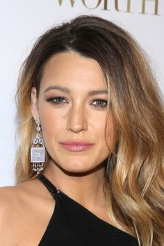 Blake Lively You know the bronde trend has legs when a classic California blonde like Blake opts for a darker shade, trading her sunny highlights for deeper caramel streaks.   - Redbook.com
