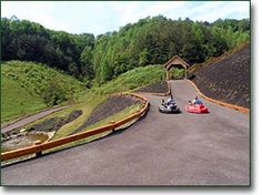 This would be awesome to have! Cabin rental near Pigeon Forge Tennessee that includes a go-kart track on the 5 acre property. Gatlinburg Vacation, Vacation Cabin Rentals, Gatlinburg Cabin Rentals, Tennessee Vacation, Gatlinburg Tn, Vacation Places, Vacation Destinations, Vacation Trips, Dream Vacations