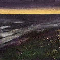 These moody oil landscapes are by renowned Norwegian artist Ørnulf Opdahl . To see more of his work go to Galleri Haaken . Paintings I Love, Oslo, Contemporary Paintings, Cool Art, Fun Art, Landscape Paintings, Scandinavian, Northern Lights, Waves