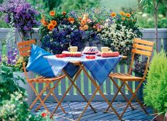 spring summer apartment patio decorating ideas | Spring Inspiration: Patio garden designs for apartment and backyard!