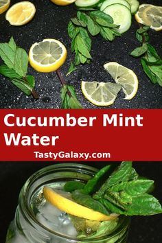 How to make Cucumber Lemon Water. This easy lemon mint water is simple to make, healthy and it tastes amazing! Cucumber mint water is such delicious flavored water drink. Here is how to make mint cucumber lemon water Food Tips, Food Hacks, Real Food Recipes, A Food, Fun Drinks, Yummy Drinks, Lemon Mint Water, Recipe Form, Drink Recipes Nonalcoholic