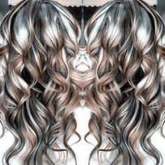 Gray Lace Frontal Wigs wash in wash out colour for grey hair – wigsshort Hair Gray Lace Frontal Wigs Wash In Wash Out Colour For Grey Hair Teal Hair Color, Hair Color And Cut, Hair Colors, Gray Hair Highlights, Balayage Blond, Grey Wig, Brown Blonde Hair, Silky Hair, Synthetic Hair