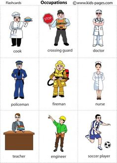 Occupations 1 flashcard