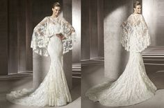 lace wedding dresses have like ?