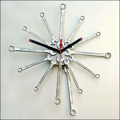 Wrench clock