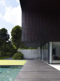 The Queen Astrid House by Aamer Architects
